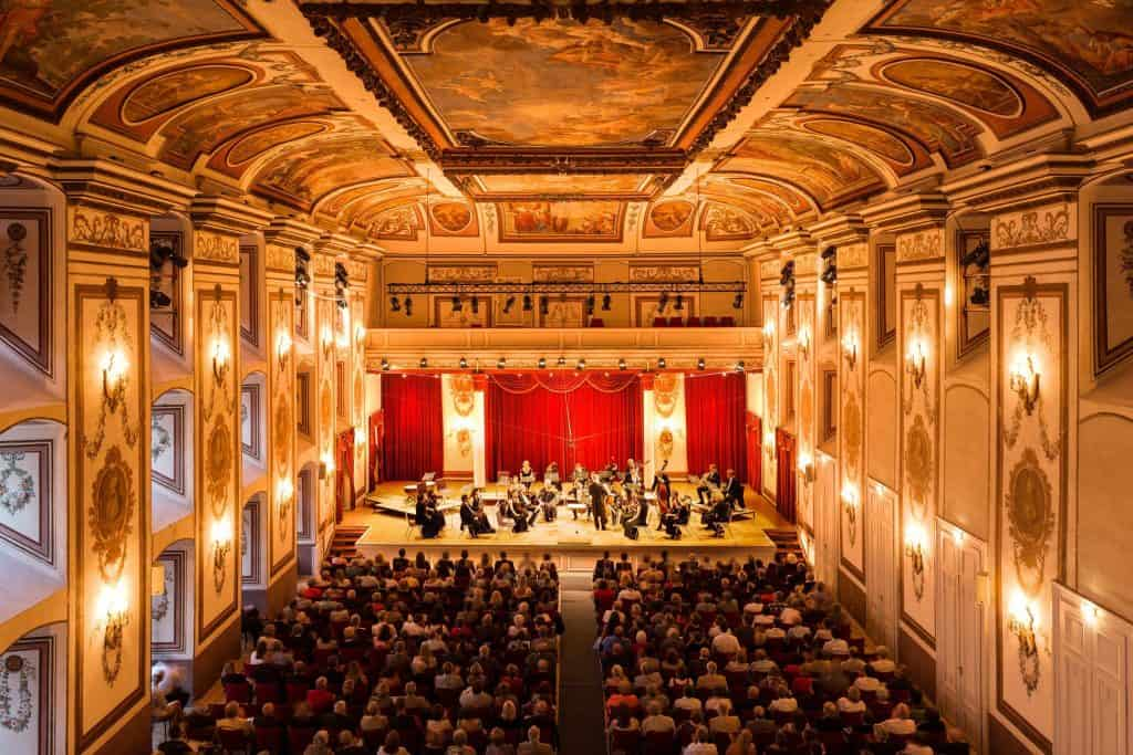 Haydnsaal im Schloss Esterhazy - Eisenstadt, Burgenland